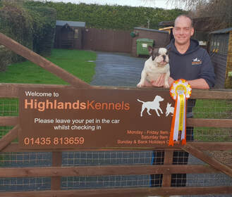 Ben Holt of HighHolt Dogs & Highland Kennels is a Master Breeder